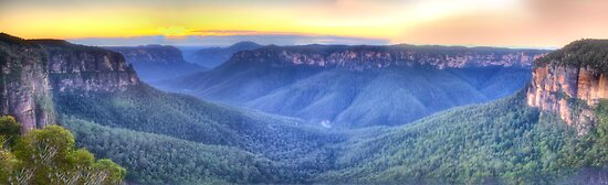 Awe - Govett's Leap, Blackheath ,NSW Australia - The HDR Experience by Philip Johnson