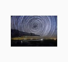 Time-exposure of polar star trails Unisex T-Shirt
