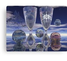 Cheers!, surrealistic / fantasy artwork with drinks Canvas Print