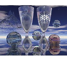 Cheers!, surrealistic / fantasy artwork with drinks Photographic Print