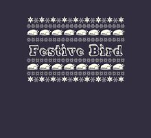 'Festive Bird'  - Ladies tees Womens Fitted T-Shirt