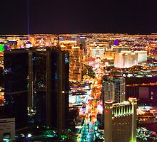 Las Vegas Strip by Elowrey