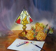 The Tiffany lamp by Beatrice Cloake Pasquier