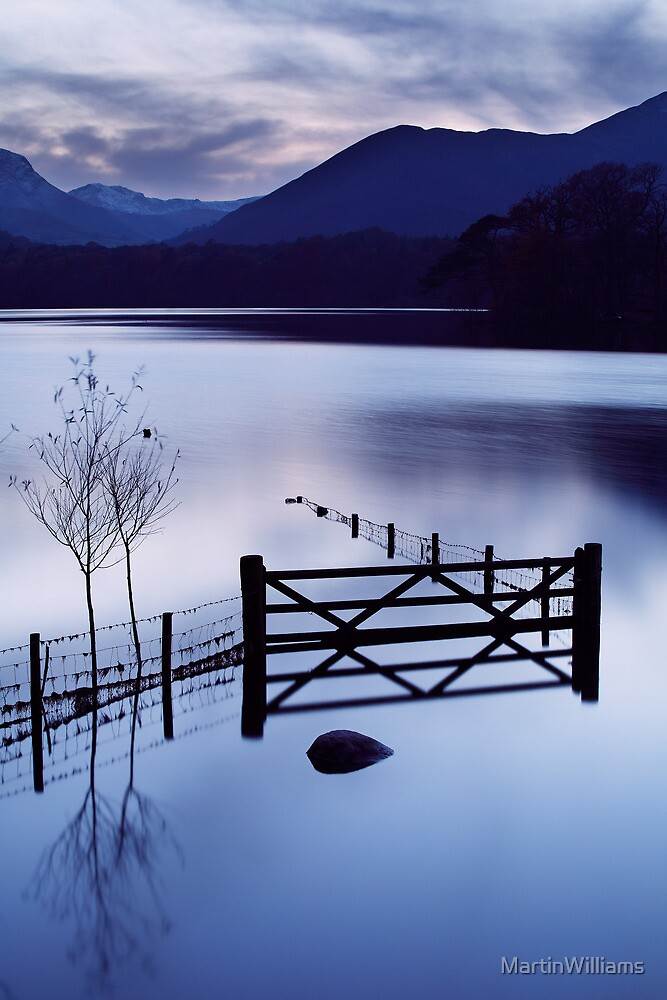 Evening at Derwent Water by MartinWilliams