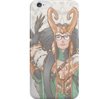 Lady Loki Hipster iPhone Case/Skin
