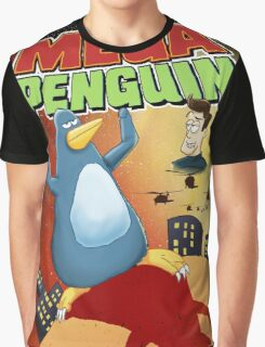 Mega Penguin Graphic T-Shirt