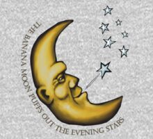 The banana moon puffs out the evening stars One Piece - Long Sleeve