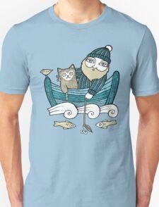 The Fisherman's Cat (Tee) Unisex T-Shirt