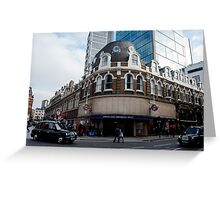 liverpool street underground station Greeting Card