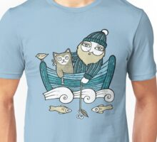 The Fisherman's Cat Unisex T-Shirt