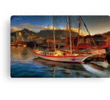 Yacht club Canvas Print