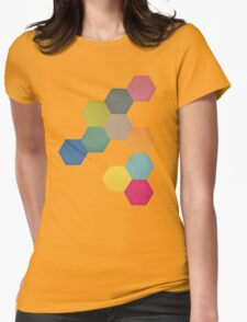 Honeycomb I Womens Fitted T-Shirt