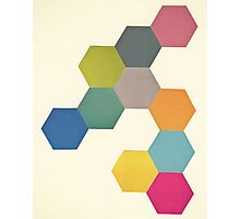 Honeycomb I Photographic Print