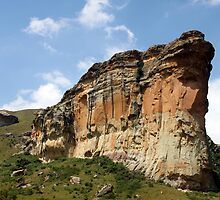 Majestic Sandstone by Antionette