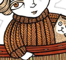 Dawn & Dinky (Dunbar Harbour) Sticker