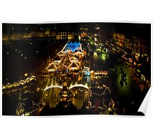 Christmas Market Stuttgart Poster
