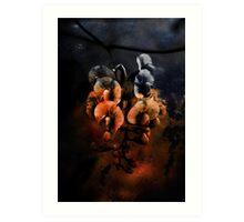 Rusty Flower Art Print