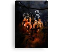 Rusty Flower Canvas Print