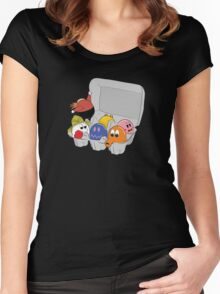 One Bad Egg Women's Fitted Scoop T-Shirt