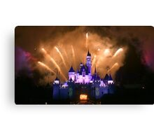 blooming castle Canvas Print