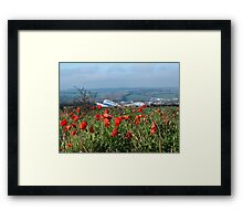 Nature Confused Framed Print