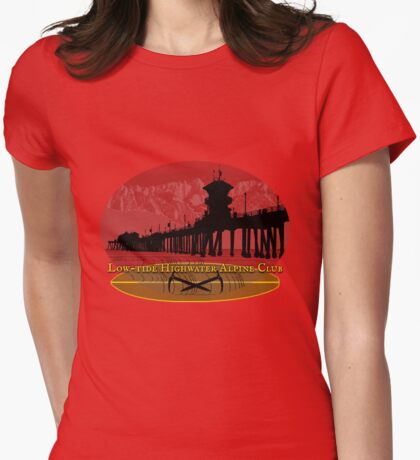 low-tide highwater alpine club Womens Fitted T-Shirt