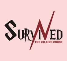 SURVIVED THE KILLING CURSE (first version) One Piece - Short Sleeve