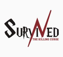 SURVIVED THE KILLING CURSE (first version) Kids Clothes