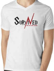 SURVIVED THE KILLING CURSE (first version) Mens V-Neck T-Shirt