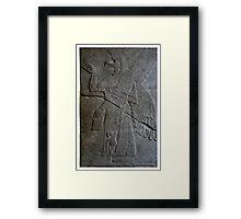 The Assyrian God Ashur, Pergamon Museum, Berlin Framed Print