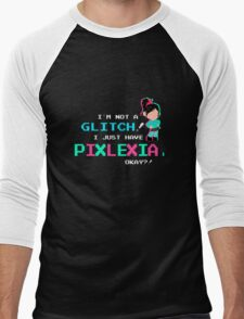 Pixlexia Men's Baseball ¾ T-Shirt