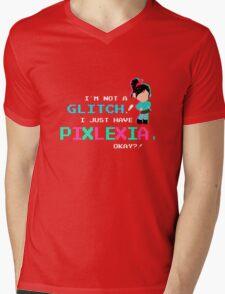 Pixlexia Mens V-Neck T-Shirt