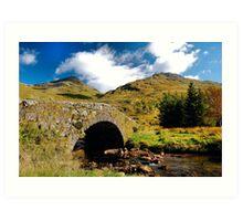 Argyll Scotland Art Print