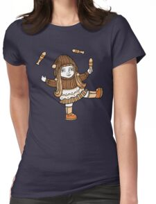 Fern's Fun at the Fringe Womens Fitted T-Shirt