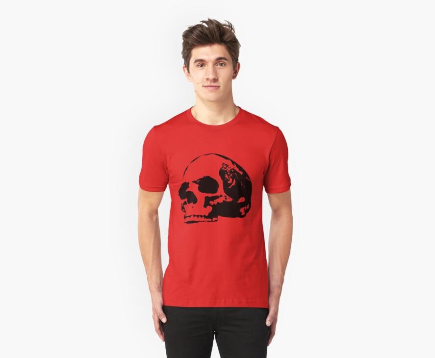 human skull  by red-rawlo
