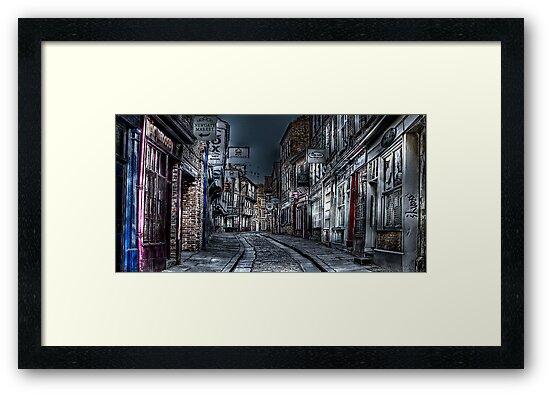 Night in the Shambles York by Trevor Kersley