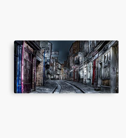 Night in the Shambles York Canvas Print