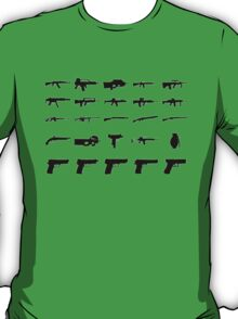 Guns Collection T-Shirt