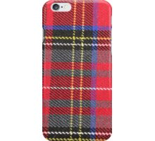 Red and Yellow Plaid iPhone Case/Skin