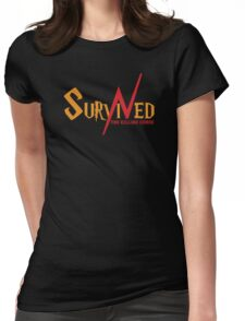 SURVIVED THE KILLING CURSE (second version) Womens Fitted T-Shirt