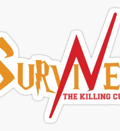 SURVIVED THE KILLING CURSE (second version) Sticker