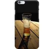 Long Tall Glass. iPhone Case/Skin