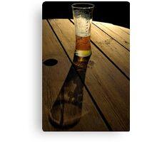 Long Tall Glass. Canvas Print
