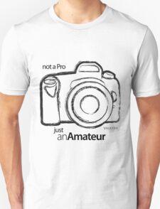 Amateur Photographer Unisex T-Shirt
