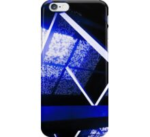 Crazy Blue Lines [ iPad / iPod / iPhone Case ] iPhone Case/Skin
