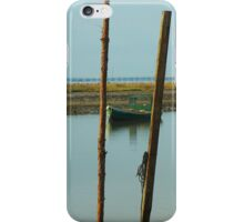Green Oyster Boat iPhone Case/Skin