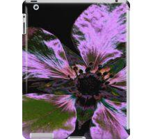 I-pad case, purple Irridesent Flower iPad Case/Skin