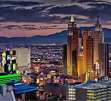 Vegas Lights by RichardBlanton