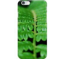 Green Forest Fern iPhone Case/Skin
