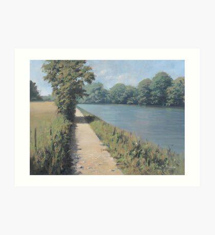 The Thames Path Art Print